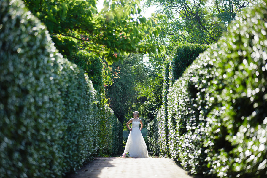 A Garden Glam Bridal Session