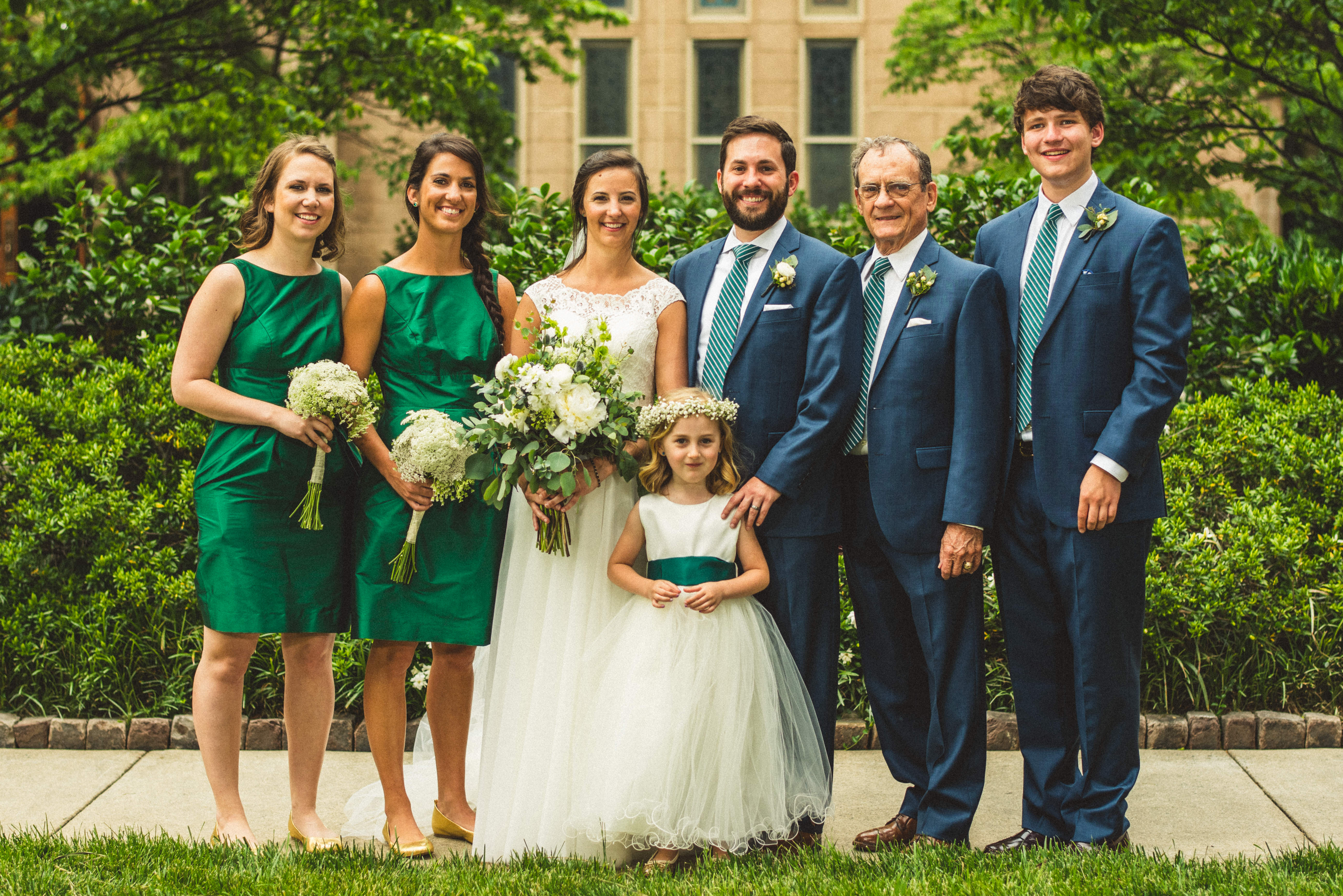 Romantic Emerald Green & Navy Wedding -- Bustld -- Planning Your ...