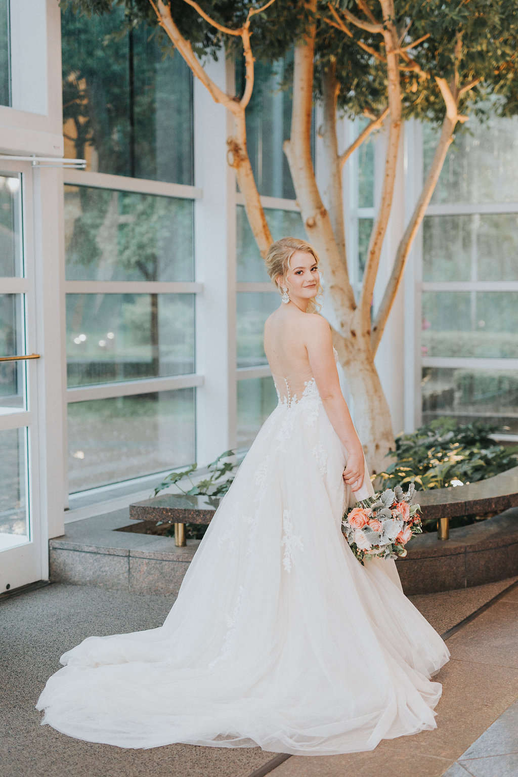 Summer Wedding Inspiration Styled Shoot at the Mint Museum Randolph ...