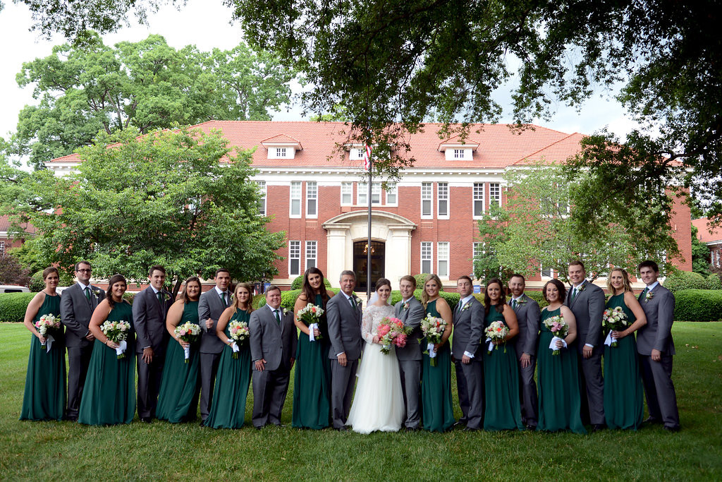 A Summer Berry Themed Wedding at Queen's University