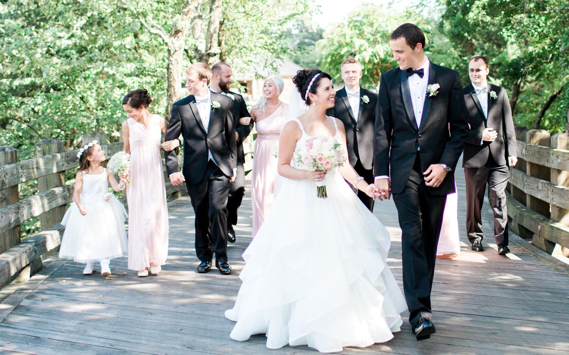 Blush & Ivory Hotel Wedding