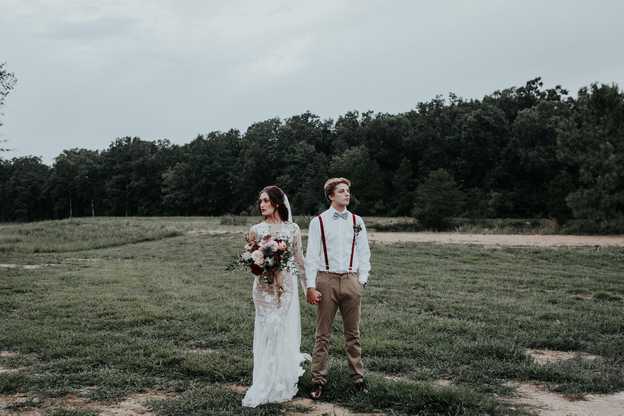 Burgundy and Fall Inspiration Styled Shoot