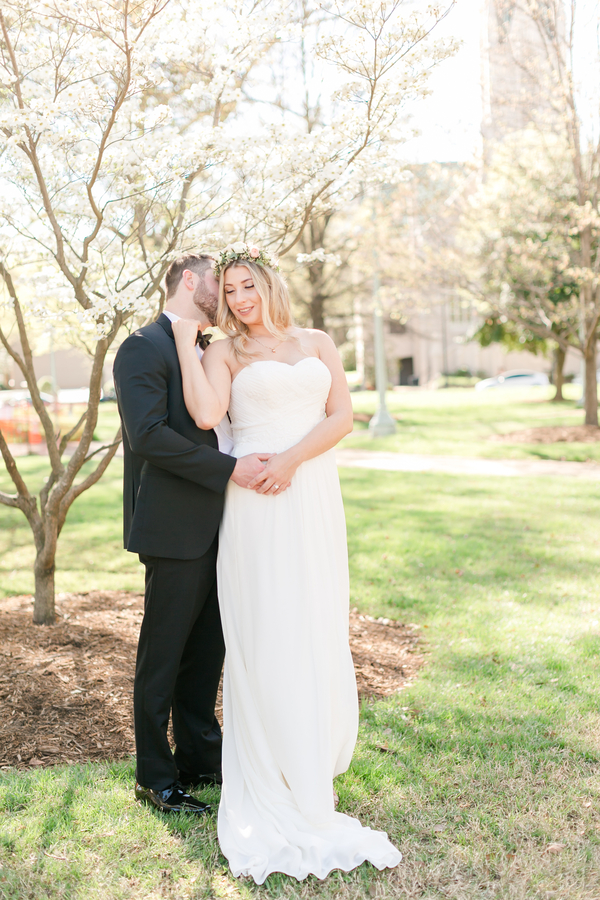 Romantic Downtown Raleigh Wedding Bustld Planning