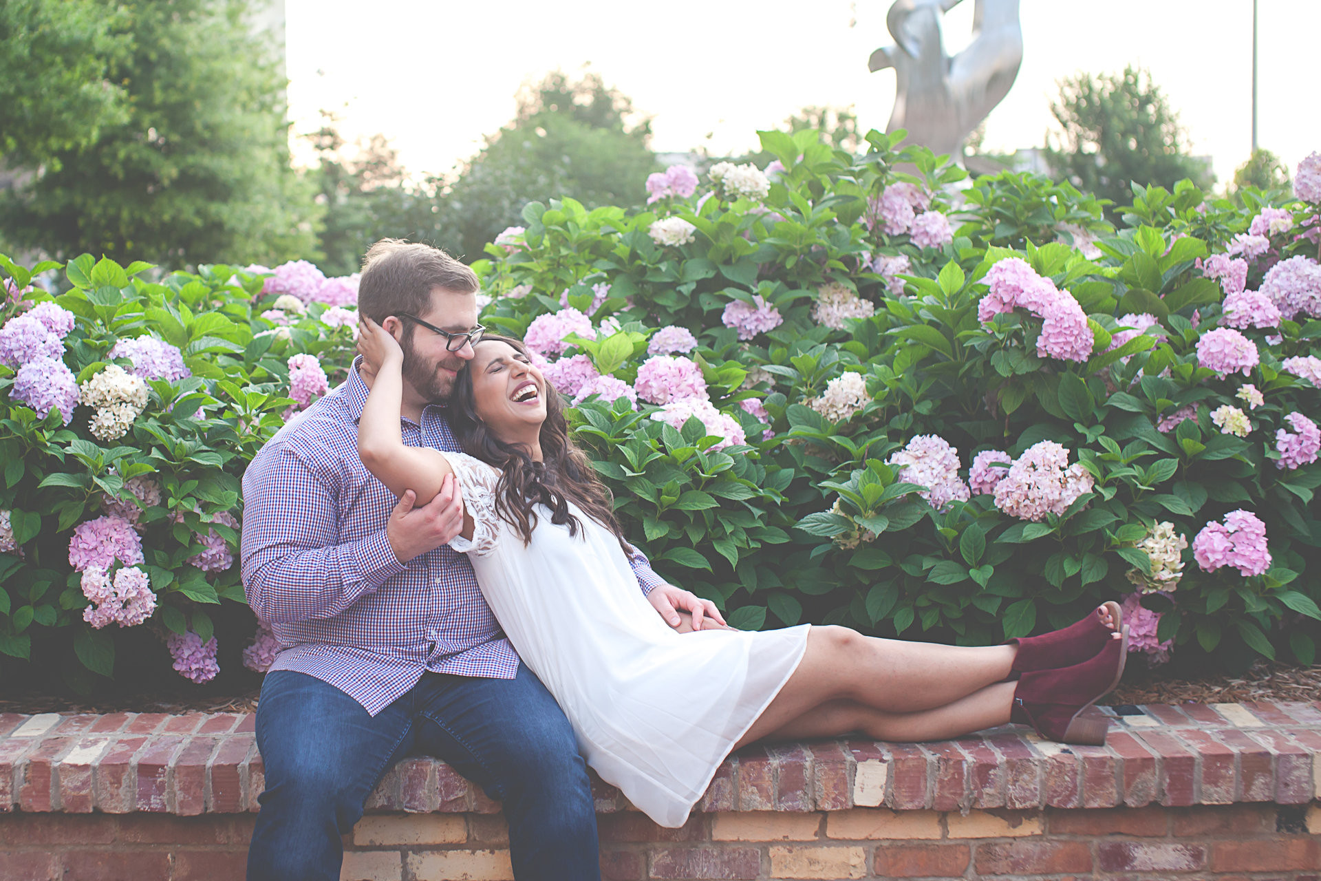 A Sweet Summer Engagement Session