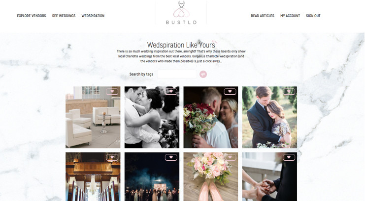 Wedspiration Boards Launch