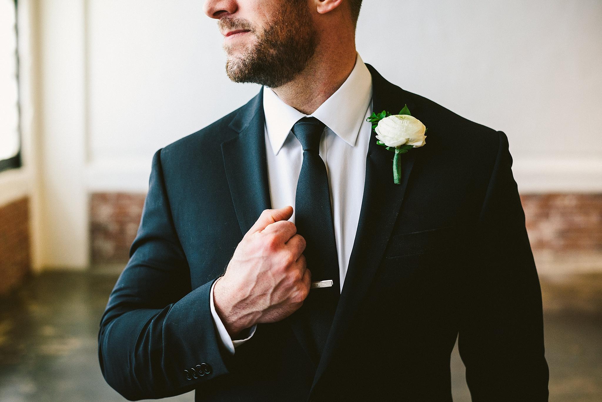 Winter Green Industrial Loft Wedding Bustld Planning
