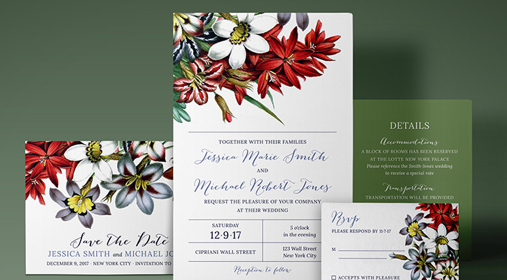 5 Reasons to Order Custom Invites