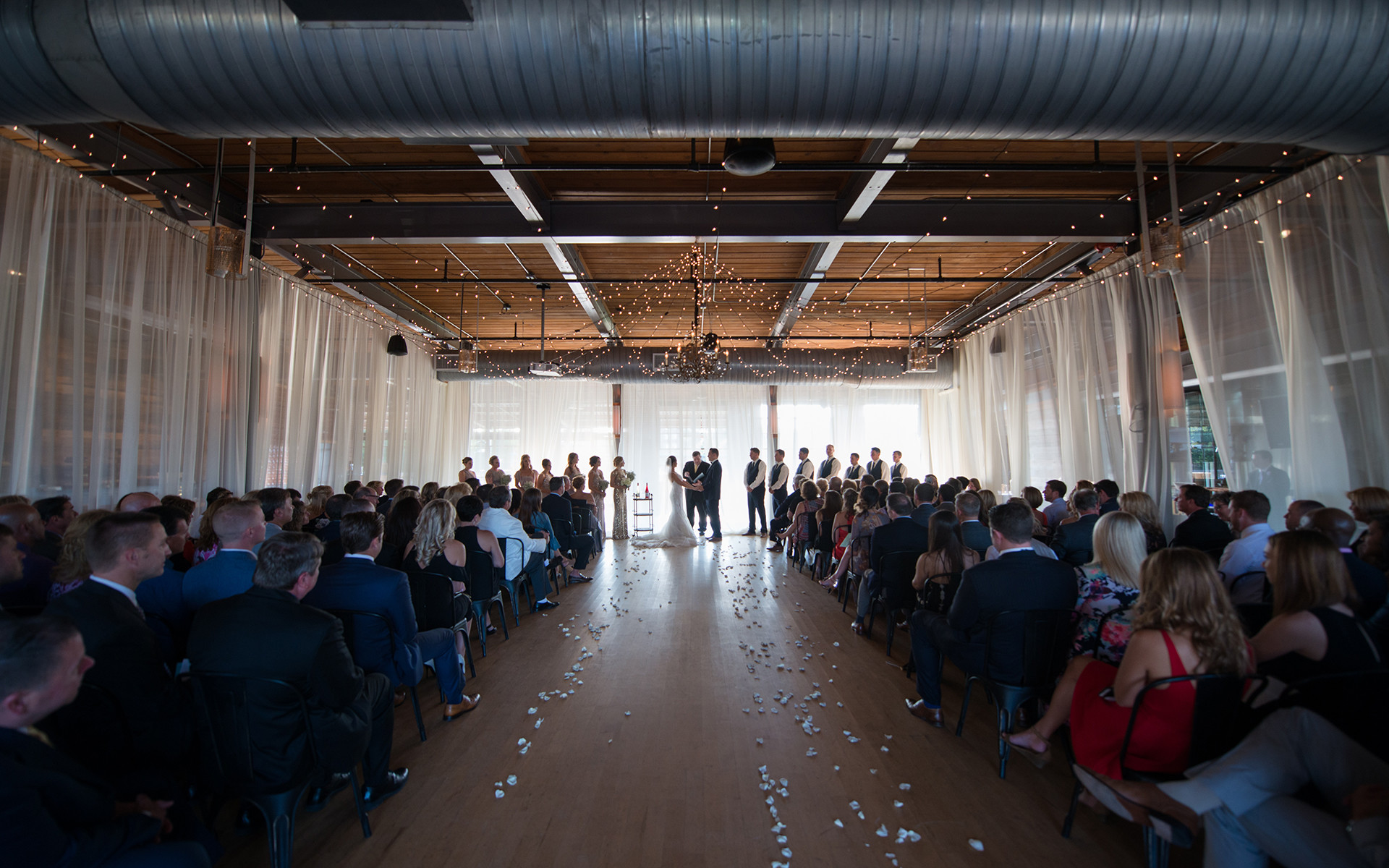 Cool and Chic Meet Industrial in This Wedding Style Trend