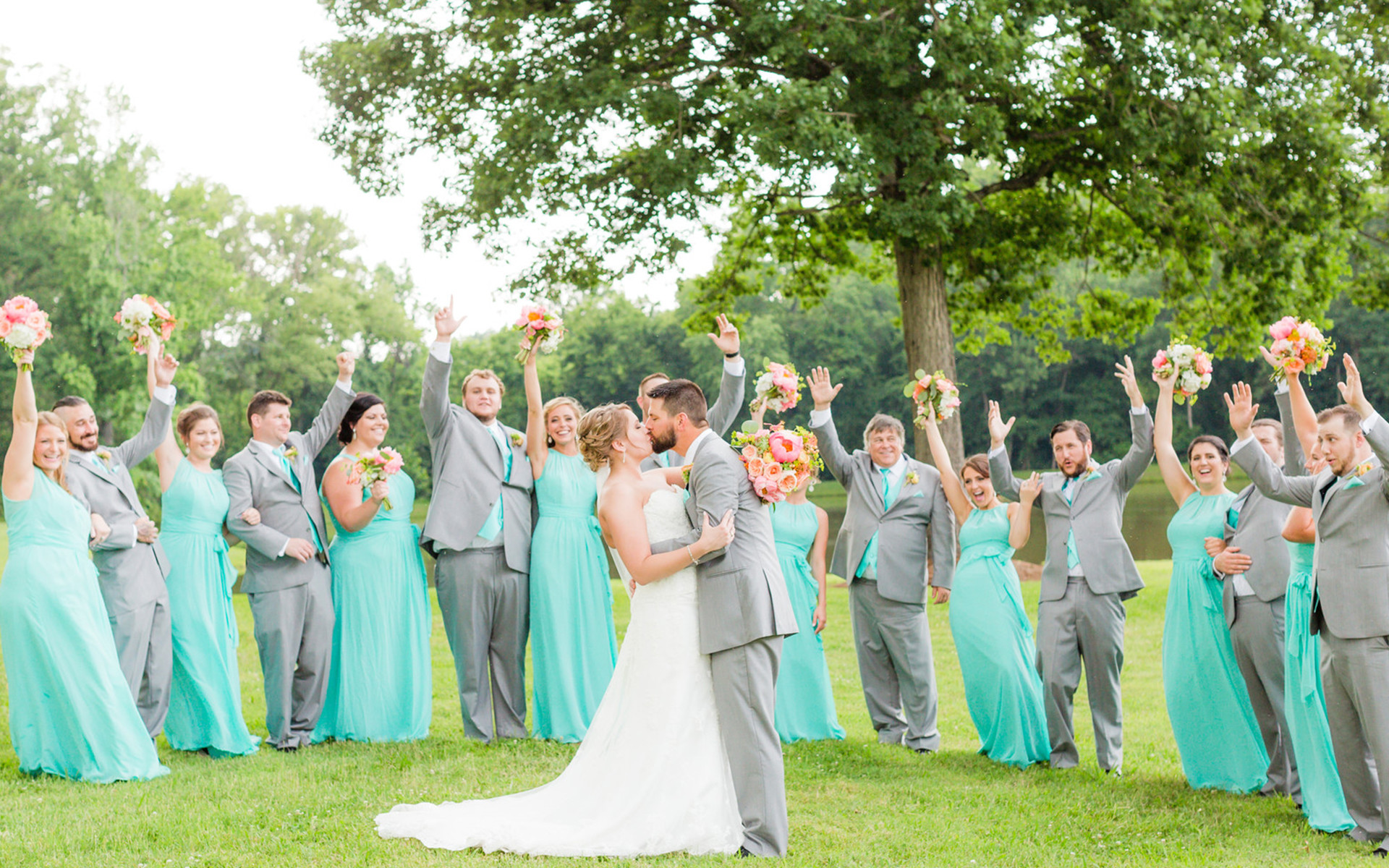 Bright June Wedding at an Eclectic Farm with a Southern Twist