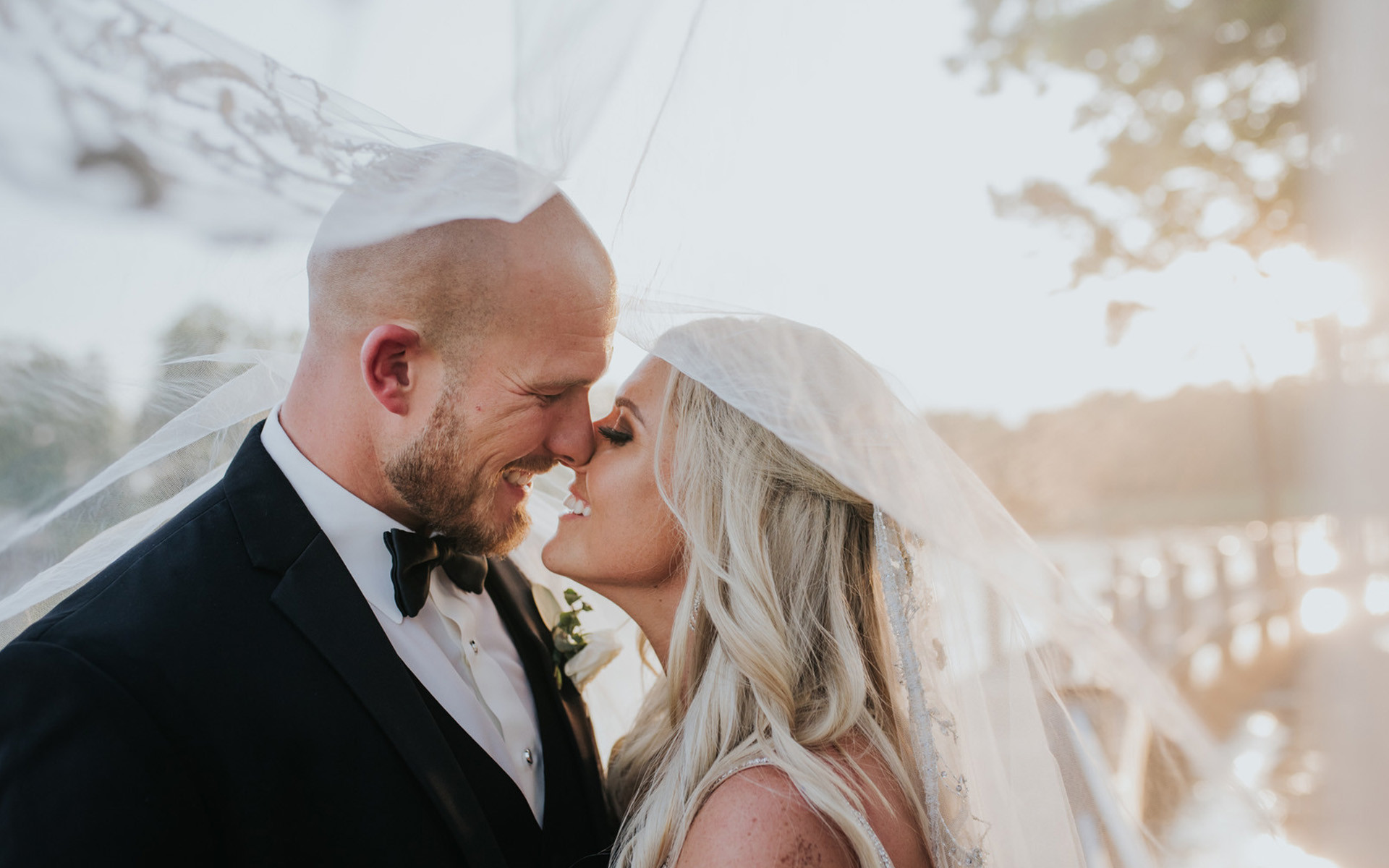 High School Sweethearts Finally Wed in Fairytale Formal Affair